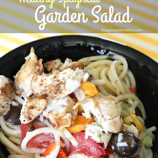 Spaghetti Garden Salad