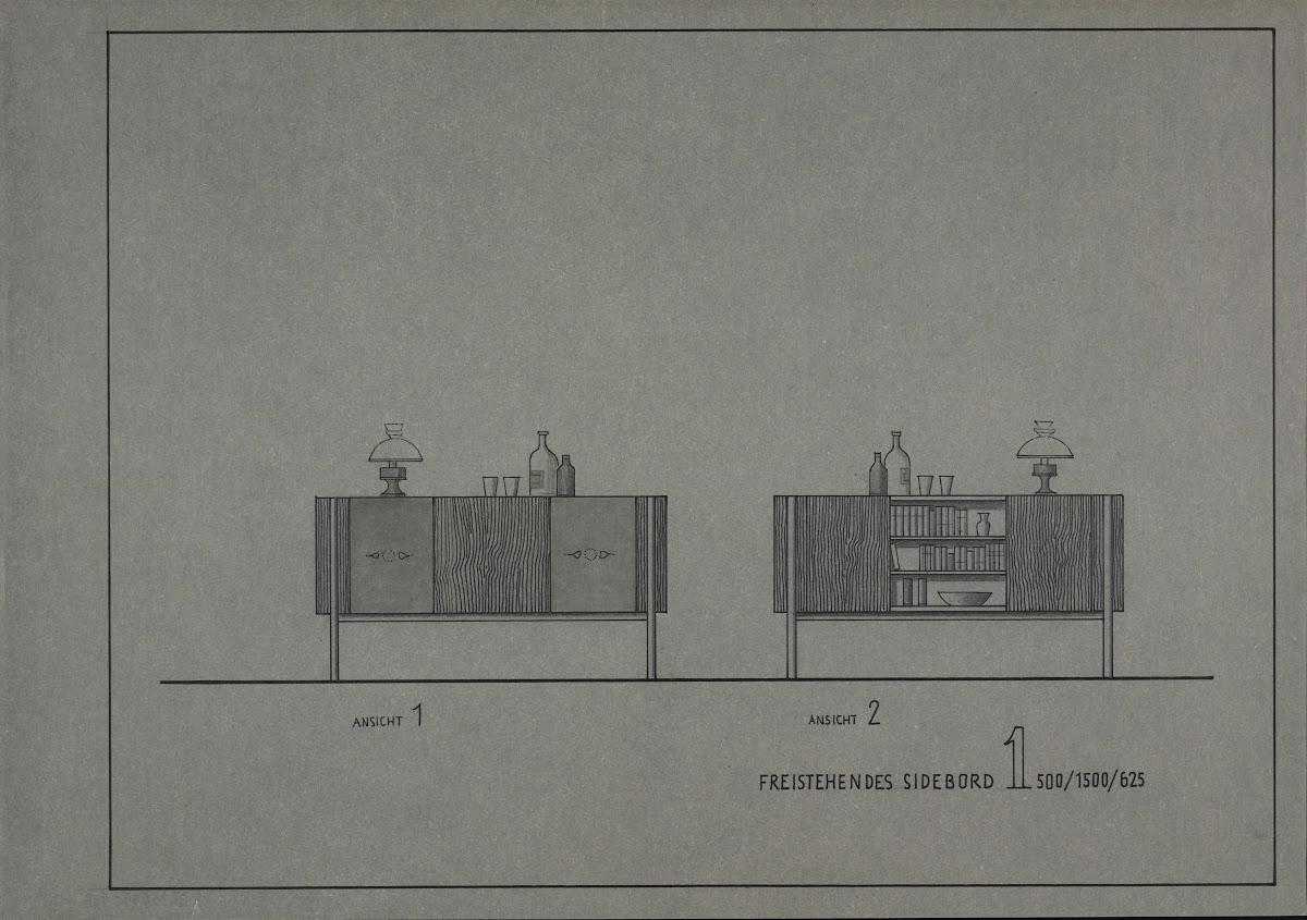 foto de FREE STANDING SIDEBOARD 1 500/1500/625 (Standardized unit ...