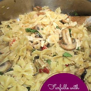 Farfalle with Chicken and Sun-Dried Tomatoes