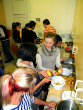 Photo: Cultural workshops in Mira House for immigrants, refugees and international students in co-operation with Novia University of Applied Sciences and Mira International Culture Society. Through cooking and sharing music from our own cultures with each other we hope to get to know other peoples cultures.