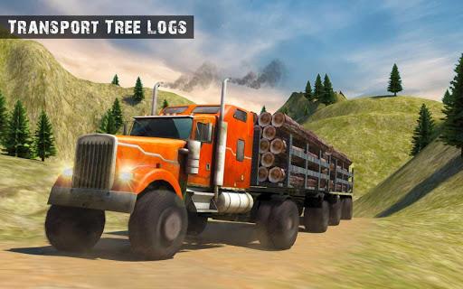 USA Truck Driving School: Off-road Transport Games 1.10 screenshots 7