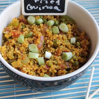 Curry Fried Quinoa