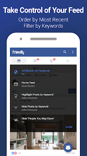Friendly for Facebook - náhled