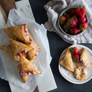 Sweet Ricotta & Strawberry Bourekas.