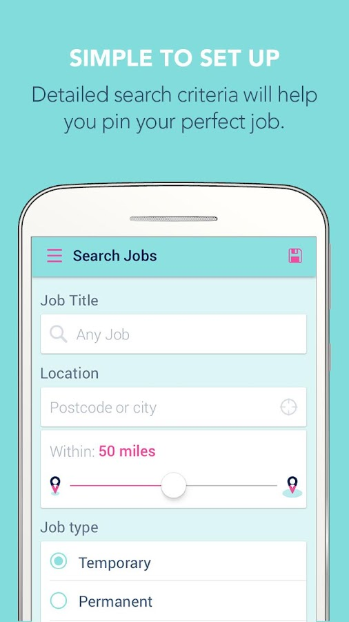 Job Search By Zoek- screenshot