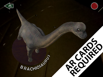 Augmented Reality Dinosaurs - myARgalaxy- screenshot thumbnail