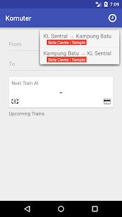 Komuter - KTM Timetable - náhled
