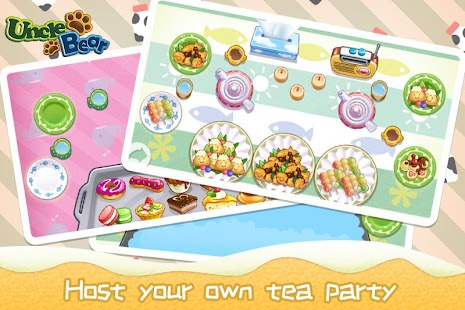 Kids Tea Time Funny Game Screenshot