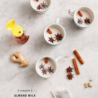 Almond Milk Latte Recipes.