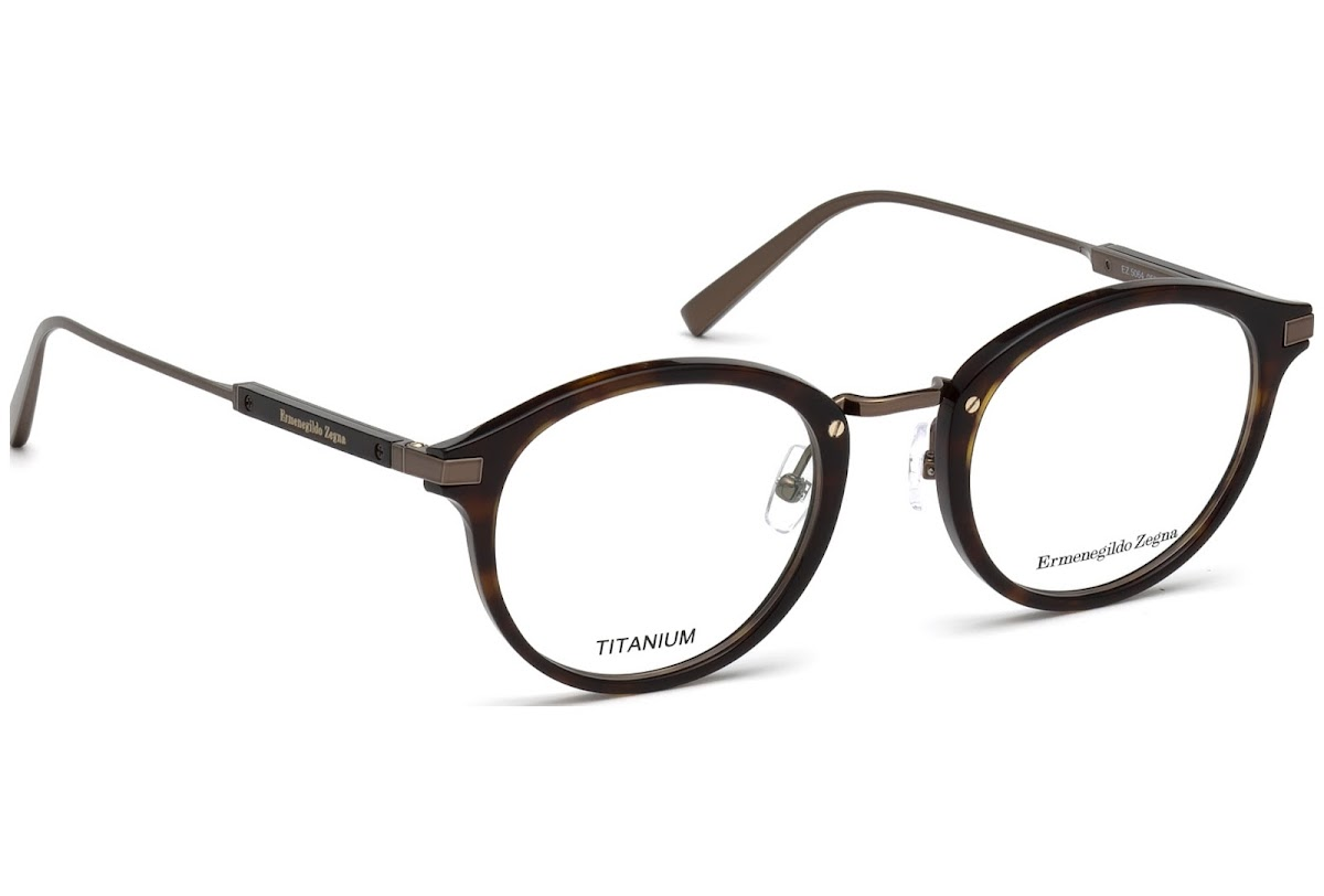 d1413d9d5786 Buy Ermenegildo Zegna EZ5064 C49 052 (dark havana / ) Frames | Blickers