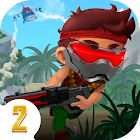Ramboat 2 - Run and Gun Shooting Offline icon