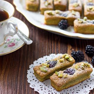 French Financiers with Blackberries Recipe