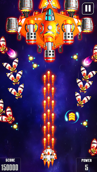 Galaxy Attack: Space Shooter v1.14 [Mod]