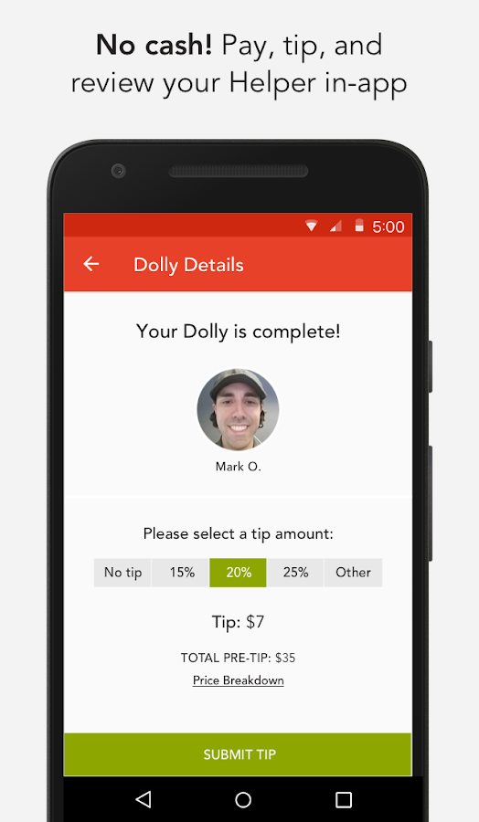 Dolly: Find Movers, Delivery & More On-Demand- screenshot