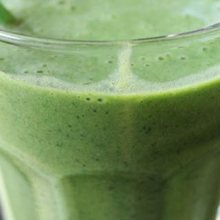 Kale and Banana Smoothie.
