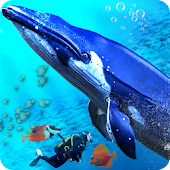 Blue Whale Ocean Simulator - Sea Animal Attack