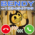 A Fake Call From Bendy and The Ink Machine Prank icon