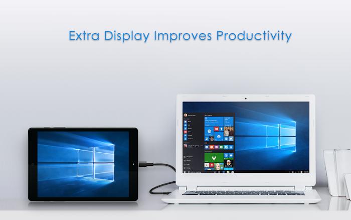 Splashtop Wired XDisplay- screenshot