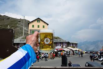 Photo: I zasłużone piwo. Jak do tej pory to najdroższe piwo jakie piłem - 5 euro ;)