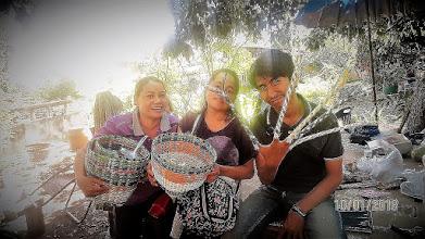 Photo: Basket work
