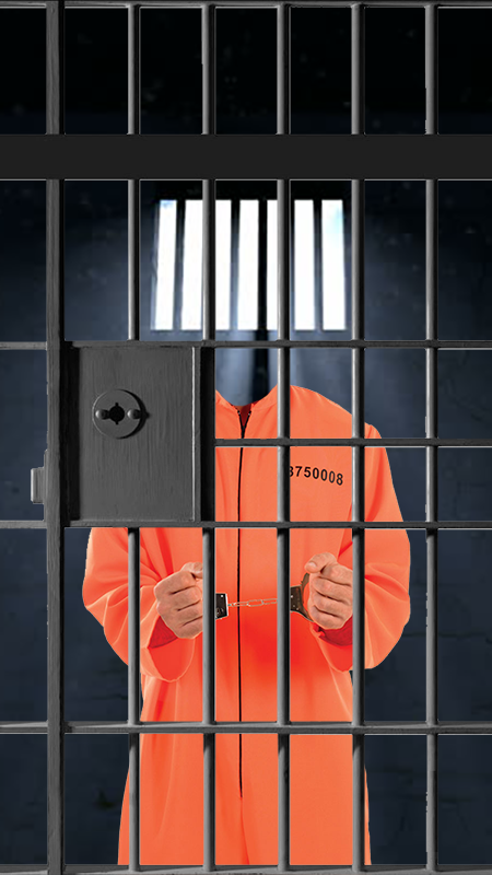 Jail Prisoner Suit Photo Maker- screenshot