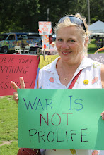 Photo: War is Not Prolife