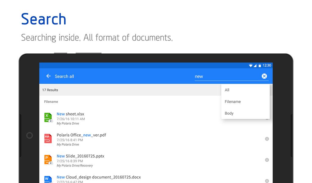 Polaris Office + PDF screenshot #22