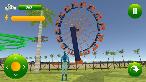 super hero water slide uphill rush  screenshots 5
