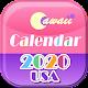 US 2020 Cawaii Calendar ❤️Free❤️ Download for PC Windows 10/8/7