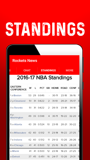 Houston Basketball News: Rockets 1.0.42 screenshots 3