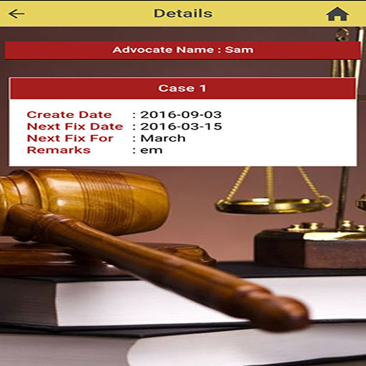 Case Diary for Clients- screenshot