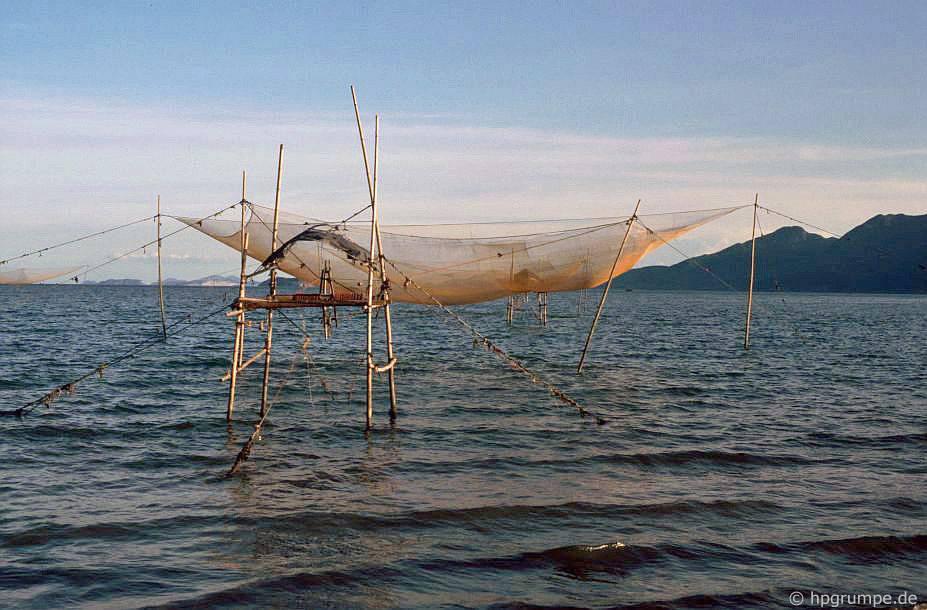 Qui Nhơn: lưới đánh cá