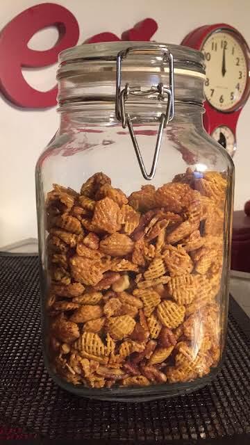 Pecan Walnut Praline Crunch