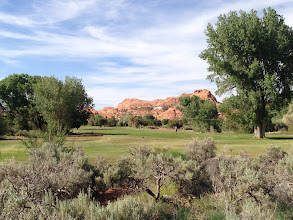 Photo: Moab golf course, right in our back yard