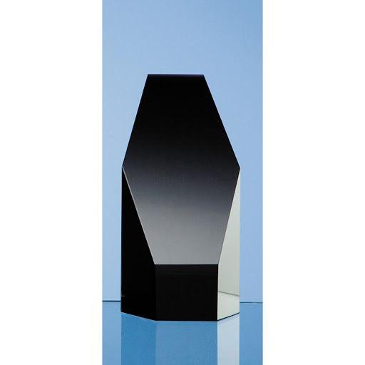 12.5 Optical Crystal Hexagon Award