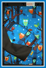 "Photo: ""Night Owls"" customized Beco Butterfly II on black straps coordinating custom Mai Poketto"