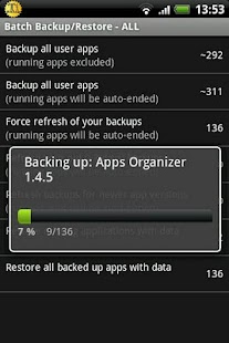 Titanium Backup ★ root needed Screenshot