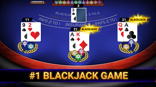 Blackjack Casino 2020: Blackjack 21 & Slots Free apkpoly screenshots 1