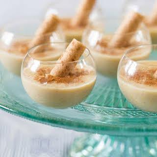 Dominican Majarete Pudding.