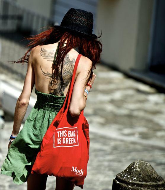 this bag is green di Ltz/rivadestra