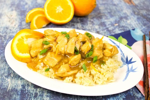 Orange Chicken and Rice - Remade