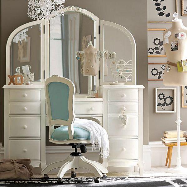 Set Up a Vanity For Your Beauty Queen Teen Girl Bedroom Ideas