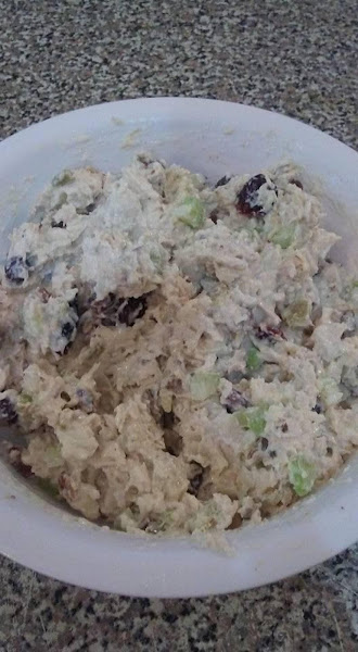 Homemade Crunchy Chicken Salad Recipe
