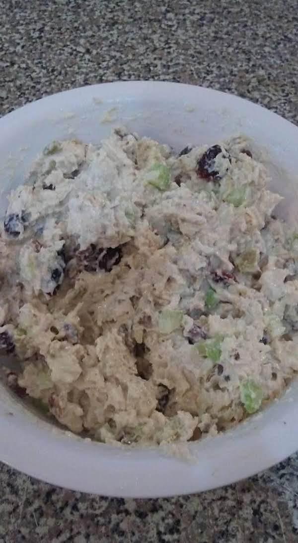 Homemade Crunchy Chicken Salad Recipe