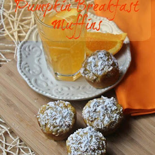 Pumpkin Breakfast Muffins