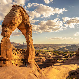 Delicate Arch by Dean Mayo - Landscapes Caves & Formations ( utah, moab, delicate, arches national park, arch )