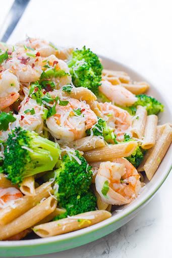 10 Best Shrimp Broccoli Pasta Recipes
