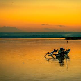 Fisherman by Alexander Nainggolan - People Portraits of Men ( indonesia, lombok tengah, batujai, lombok, fisherman, people,  )