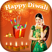 Diwali Photo Frame HD