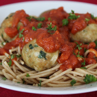 Cheesy Turkey Meatballs With Spinach